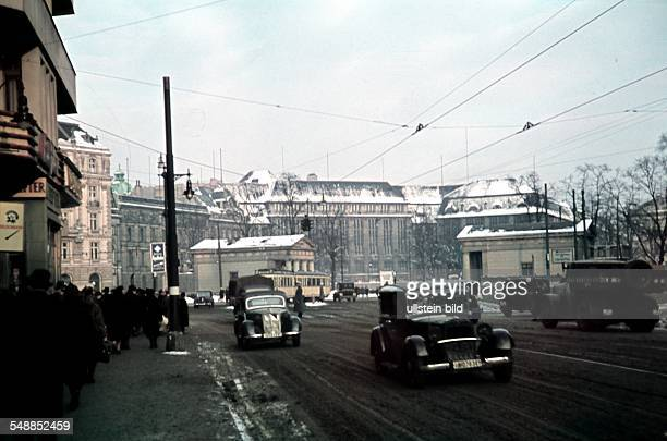 Germany Berlin View from the Postdamer Strasse to the Leipziger Platz 00001940