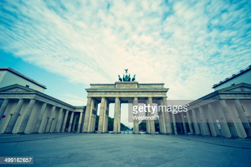 Germany, Berlin, view to Brandenburger Tor