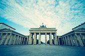 Germany, Berlin, view to Brandenburger Tor