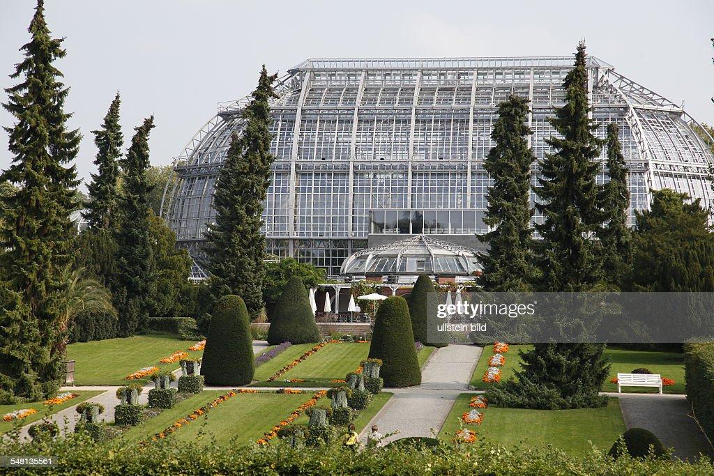 Germany Berlin Zehlendorf (Dahlem) Botanical Garden, Tropical Gallery After  Restoration.