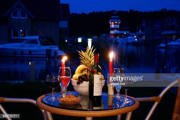 Germany Brandenburg Candlelight Dinner at the Holiday Park Rheinsberg