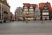 Germany, Bremen, View of market place