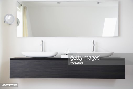 Germany, Cologne, Bathroom sinks