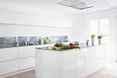Germany, Cologne, Fruit and vegetables in kitchen