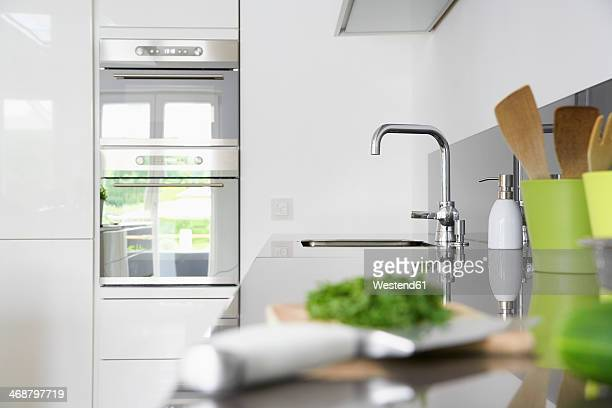 Germany, Cologne, Kitchen detail