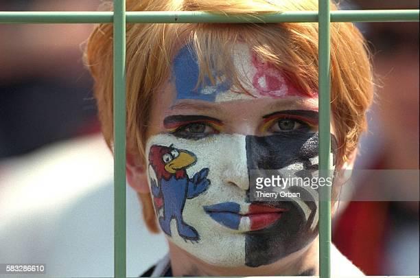 SOCCER germany cup team women mascot world fan yugoslavia