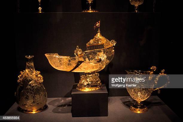 Germany Dresden Albertinum Green Vault Display Of Treasures