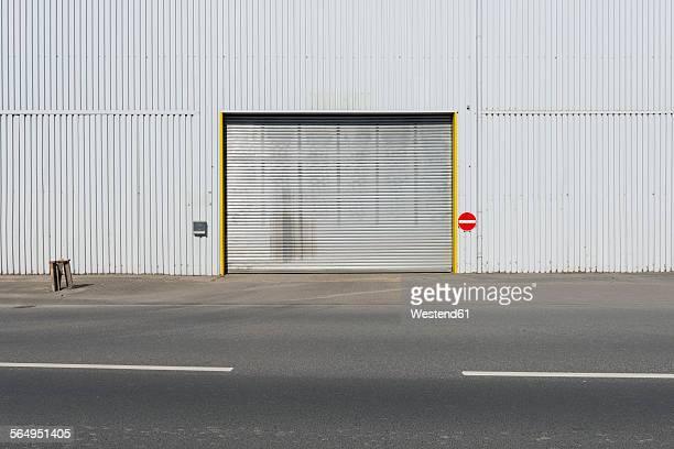 Germany, Duesseldorf, Industrial harbour, gateway