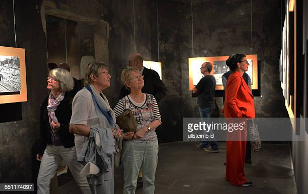The former coal mine 'Zollverein' and here the Kohlenwaesche is the venue for an exhibition of photographs of Cologne photographer Chargesheimer...