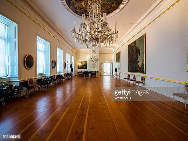 Germany, Eutin, Eutin Castle, Showrooms with historic interiors