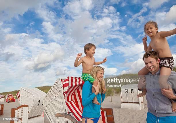 Germany, Family on Baltic Sea
