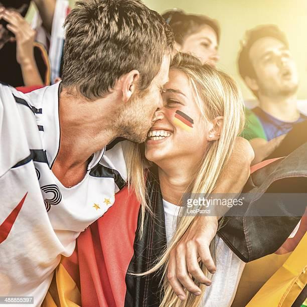 Deutschland-fans kiss