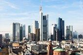 Germany, Frankfurt, Hesse, Skyline