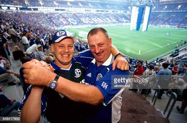 DEU Germany Gelsenkirchen Schalke 04 Arena Opening event 2001