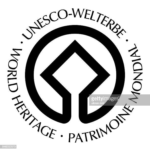 Germany German Logo of the Unesco World Heritage