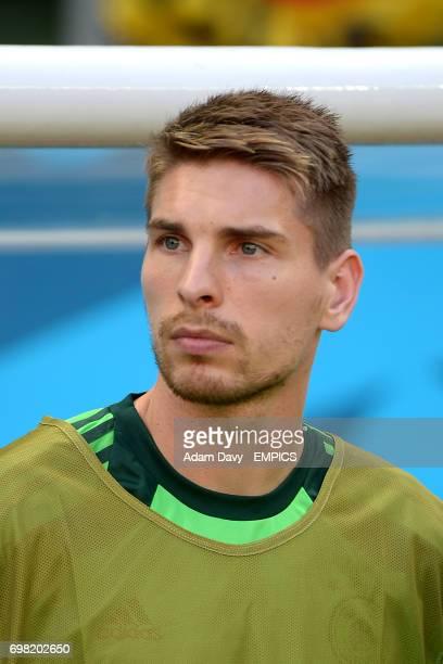 Germany goalkeeer RonRobert Zieler