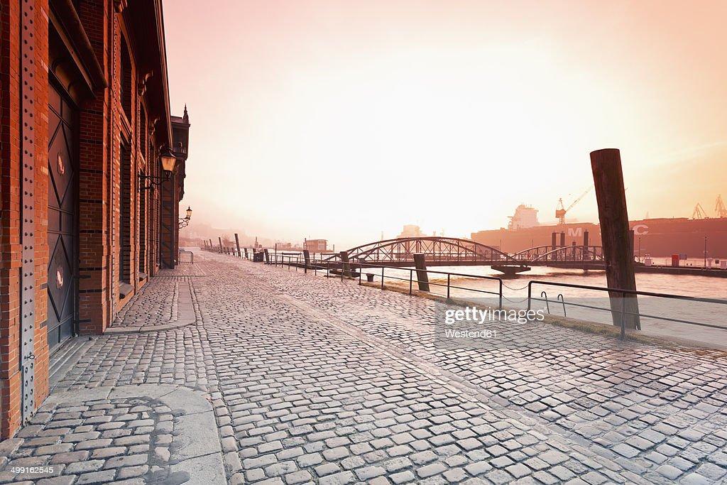 Germany, Hamburg, historic fish market hall in St. Pauli