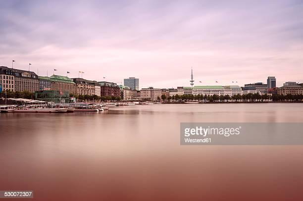 Germany, Hamburg, Inner Alster Lake