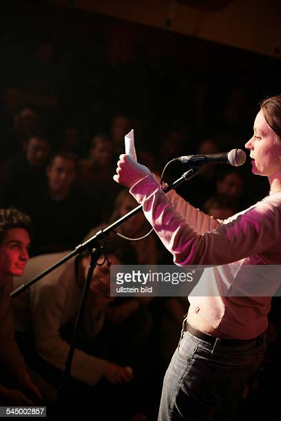 'Macht Club' at Hamburger Molotow a slam poetry event