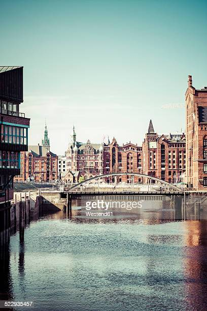 Germany, Hamburg, Old Warehouse District