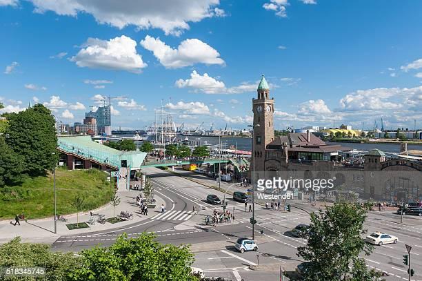 Germany, Hamburg, Port of Hamburg, St. Pauli Piers