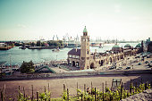 Germany, Hamburg, St Pauli Landing Stages