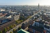 Germany, Hamburg, view from St. Michaels Church