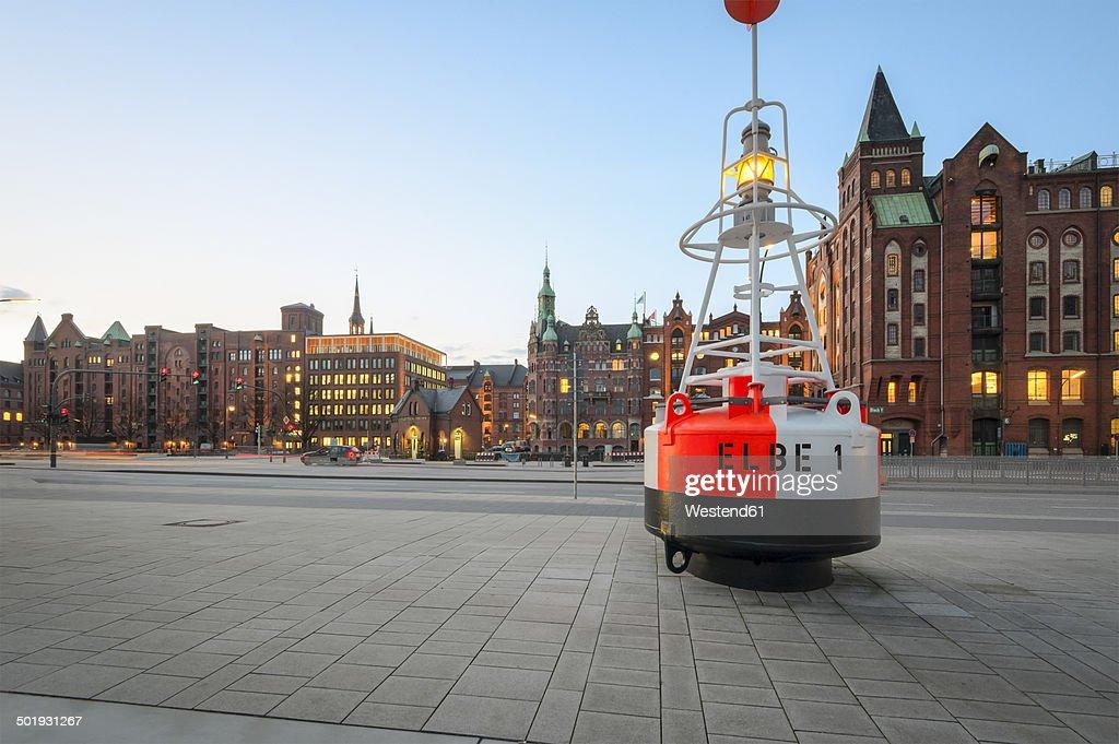 Germany, Hamburg, View of the Speicherstadt