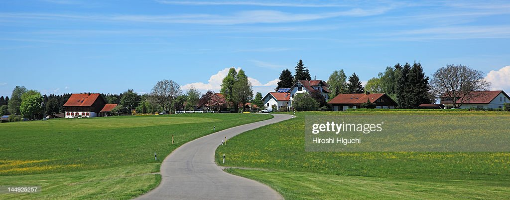Germany, Hergatz : Stock Photo