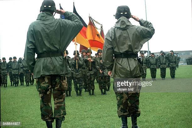 Germany Hesse Frankfurt am Main American in Frankfurt Camp King change of command