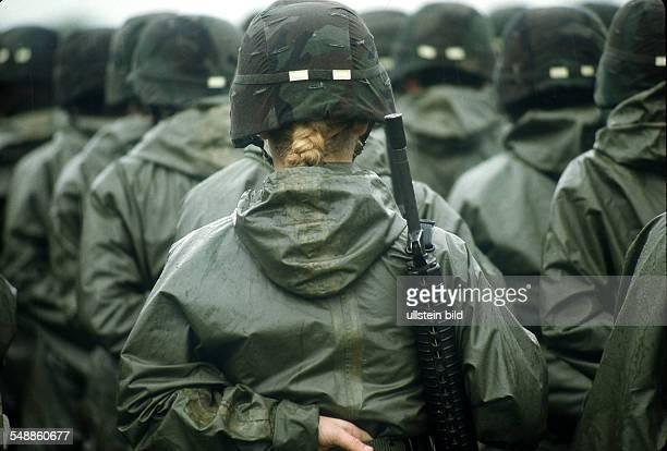 Germany Hesse Frankfurt am Main American in Frankfurt Edwards barracks change of command