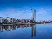 Germany, Hesse, Frankfurt, New European Central Bank building