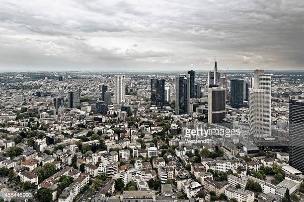 Germany, Hesse, Frankfurt, View of city skyline