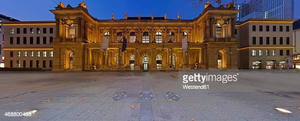 Germany, Hesse, Frankfurt, view to historical building of Frankfurt Stock Exchange