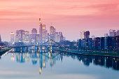 Germany, Hesse, View of Frankfurt am Main