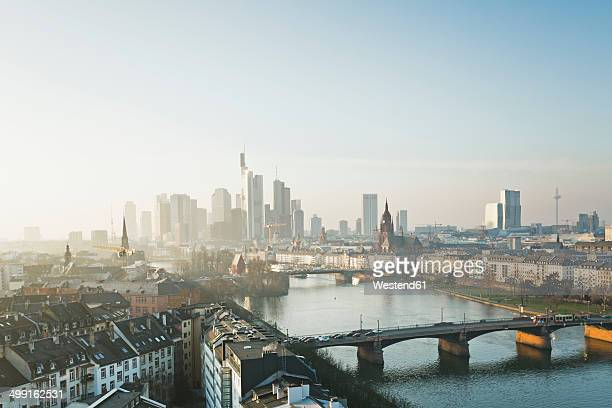 Germany, Hesse, View of Frankfurt am Main