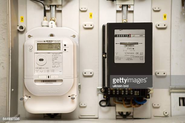 intelligent electric meter and analogue meter