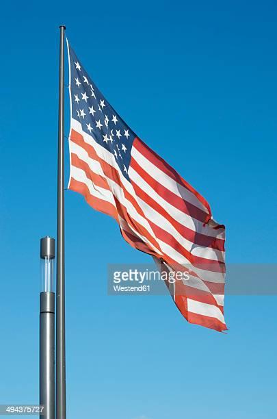 Germany, Koblenz, American Flag