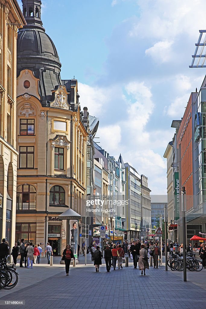 Germany, Leipzig : Stock Photo
