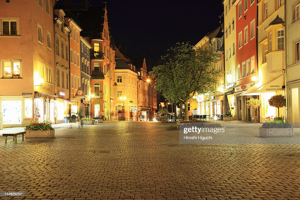 Germany, Lindau at Lake Constance : Stock Photo