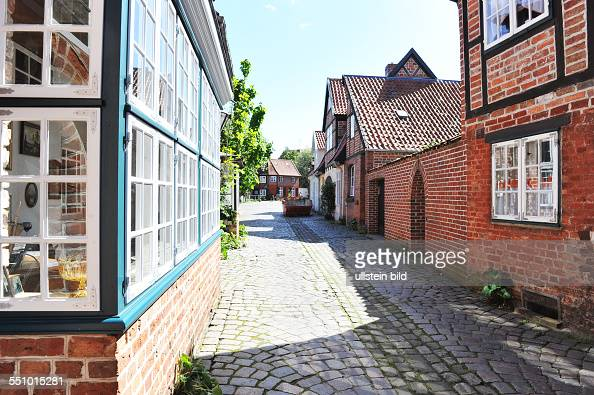 The picturesque old town of the old Hanseatic and Salt City of Lüneburg