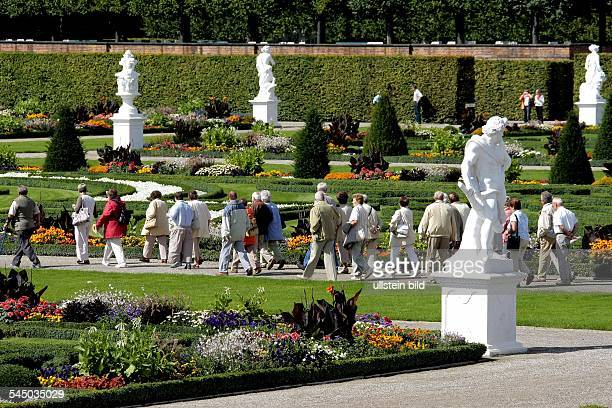 Germany Lower Saxony Hannover 'Herrenhaeuser gardens' 2008