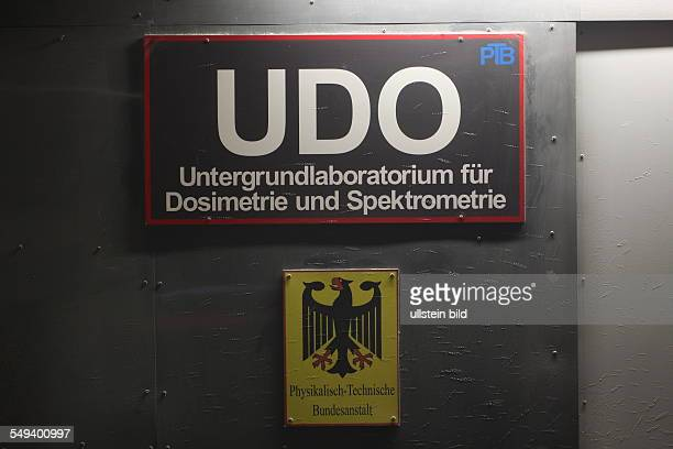 DEU Germany Lower Saxony The former salt mine and current research mine Asse II In the former salt mine offiziel weakly and middleradioactive waste...