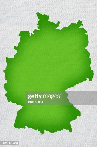 Germany Map : Stock Photo