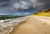 Germany, Mecklenburg-Western Pomerania, Baltic Sea beach in Born auf dem Darss