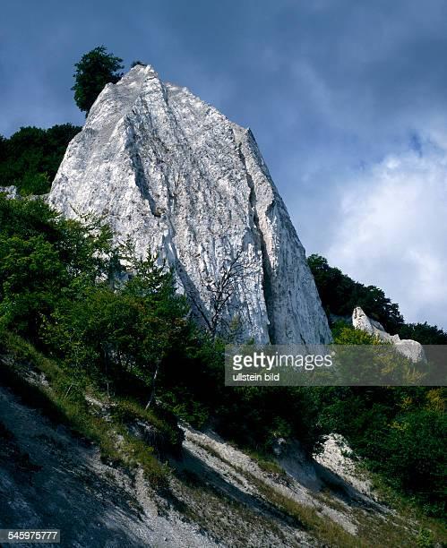 Germany MecklenburgWestern Pomerania Ruegen Island chalk cliff no date