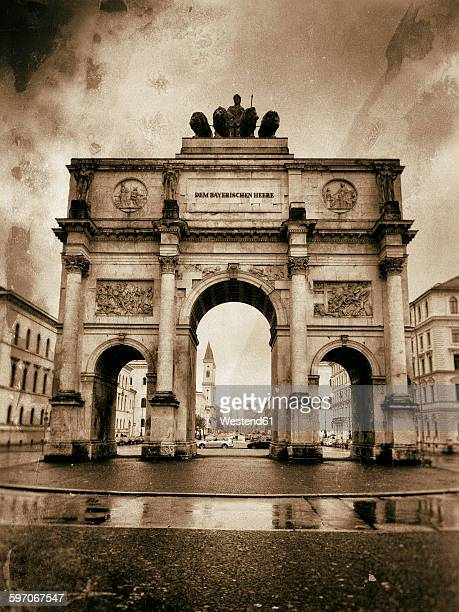 Germany, Munich, Victory Gate