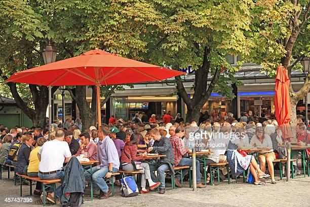Germany, Munich, Viktualienmarkt