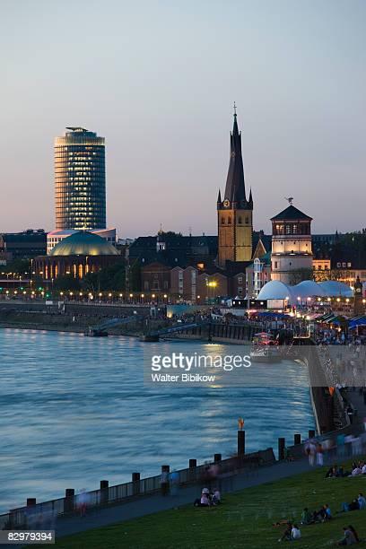 Germany, Nordrhein-Westfalen, Dusseldorf, Old Town