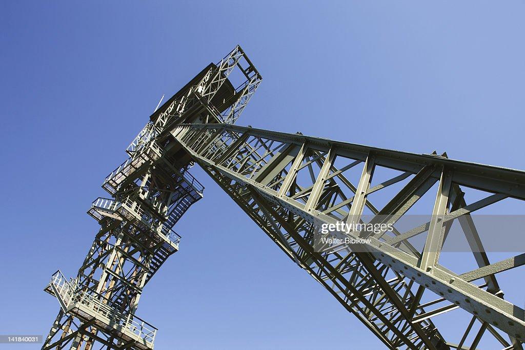 Germany, Nordrhein-Westfalen, Ruhr Basin, Dortmund, LWL Industrial Museum, Zollern Colliery : Stock Photo